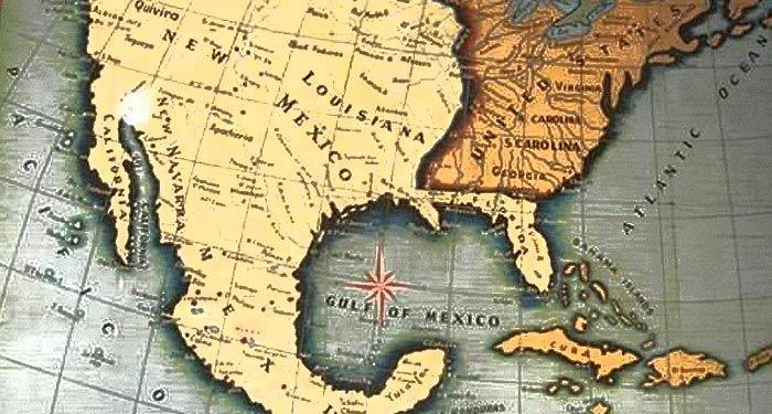 Este Era El Imperio Mexicano En 1794 Mayor Que Estados Unidos Mapa De Mexico Antiguo Mapa De Mexico Territorio De Mexico