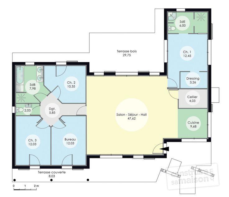 133 best maison bioclimatique images on Pinterest House design
