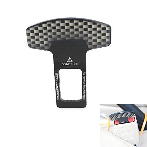 Beracah Universal Vehicle Car Safety Seat Belt Buckle Clip 2Pack  ✅100% Brand New And High Quality!  ✅Universal For All Models  ✅Checkerboard Buckle Clip  ✅Package include: 2 X Buckle