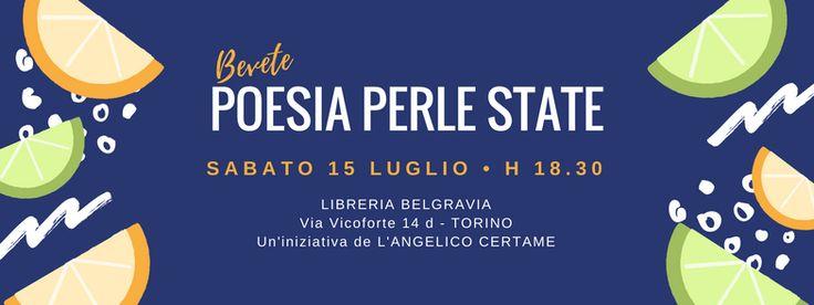 """Appuntamento il 15 Luglio con """"Poesie perla Estate"""""""