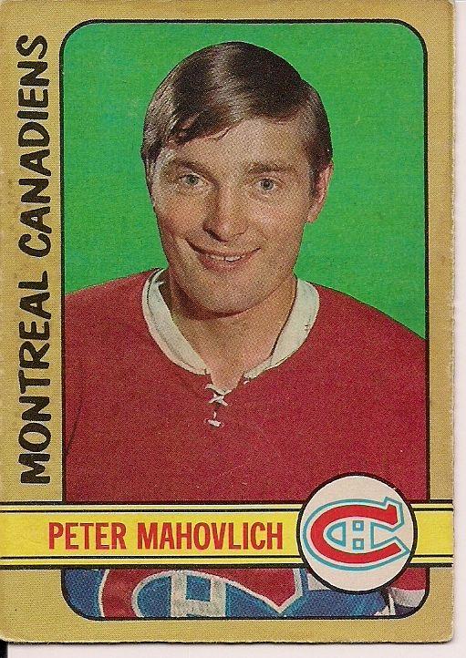 | 1972-73 o-pee-chee #124 pete mahovlich montreal canadiens hockey
