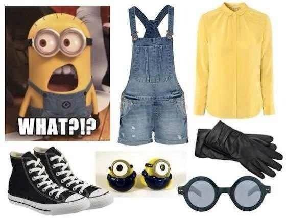 Very cool grown up Minion costume, if its too cold to do the other!!