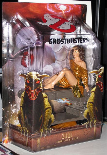 The 2012 SDCC (San Diego Comic-Con) Exclusive Zuul (Dana) Ghostbusters figure from Mattel.