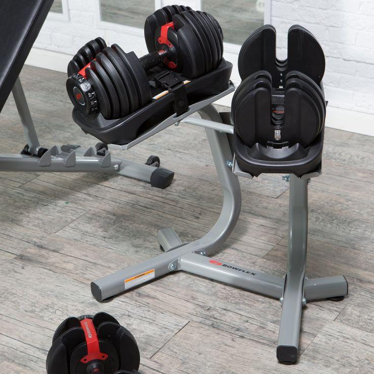 Bowflex SelectTech 552 Adjustable Dumbbell Set - 5-52 lbs. - 100182
