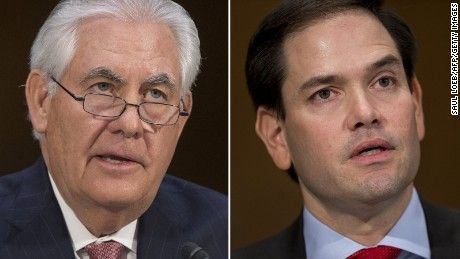 04/05/17 | Republican Sen. Marco Rubio said Wednesday that he doesn't think it's a coincidence that a suspected chemical weapons attack in Syria occurred shortly after Secretary of State Rex Tillerson suggested Syrian President Bashar Al-Assad could remain in power.