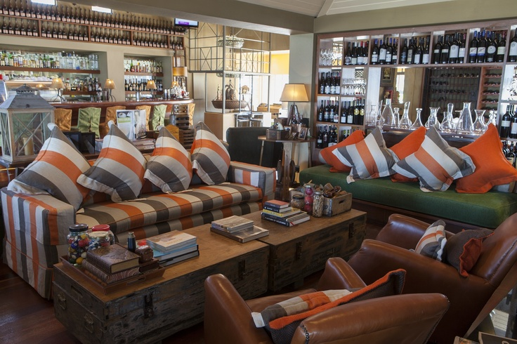 The Lounge and Bar Area - Relax with a drink before or after your booking while the fire roars in winter. Donovans Restaurant