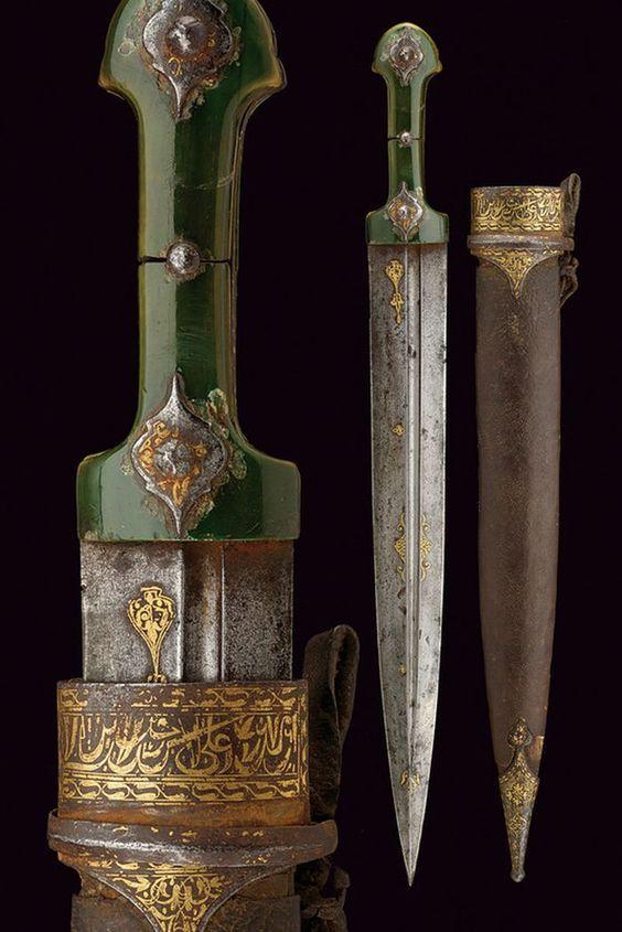 Kindjal Dagger Dated - 19th century.