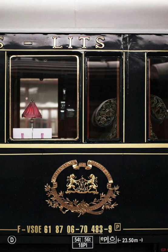 Orient Express ~ Paris - Explore the World with Travel Nerd Nici, one Country at a Time. http://TravelNerdNici.com