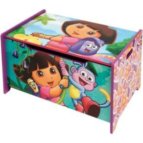 Förvaringsmöbler - Disney - Dora Förvaringskista Förvaringslåda