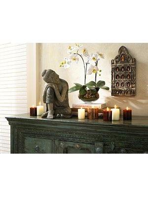 buddha wandboard buddha orchidee bei heinede - Buddha Deko Wohnzimmer