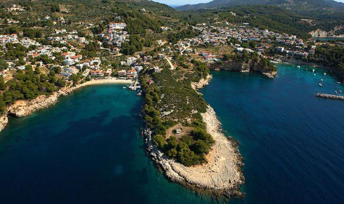 Roussoum Yalos beach Alonissos Sporades