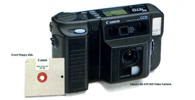 Blast From the Past: Canon Ad Shows Off Its Cutting Edge 1989 Still Video Cameras canonstillvideo2