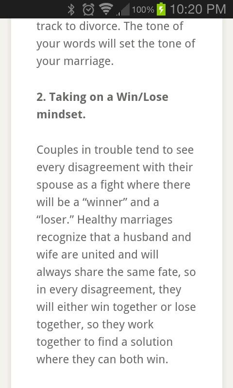 how to fight for your marriage and win