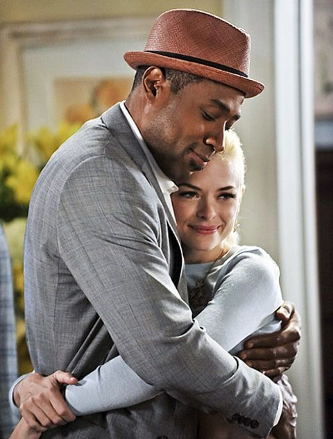 Jaime King et Cress Williams Hart of Dixie