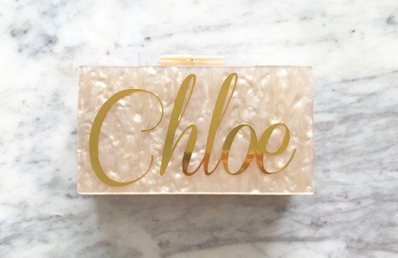 Personalized Acrylic Clutch Box Clutch Custom Mrs. Clutch | Etsy | Bridal  clutch, Acrylic clutch, Acrylic box clutch