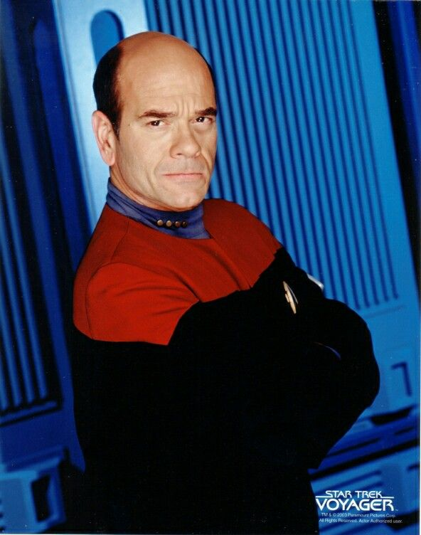 Robert Picardo as The Doctor in Star Trek Voyager ❤