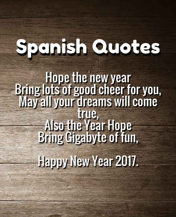 1000+ Ideas About Happy New Year Spanish On Pinterest