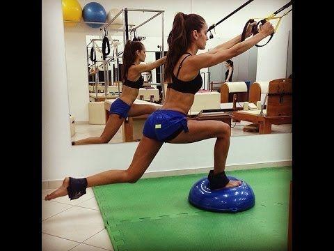 Izabel Goulart Workout (sport with Victoria's Secret Angel) - YouTube