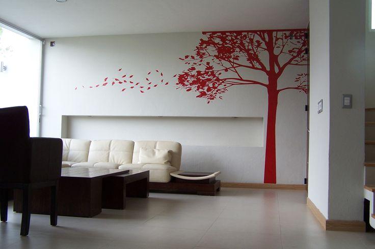 #tree #fall #autumn #walldecal #decals #viniles #vinil