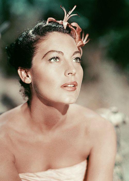 Ava Gardner at 35  in The Little Hut (1957)
