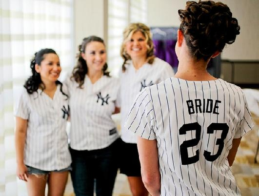 @Andrea Oliver- I found what you and your girls will be wearing when you get ready for your baseball themed wedding :)