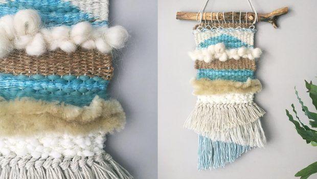 Weaving a wall hanging • LoveKnitting Blog