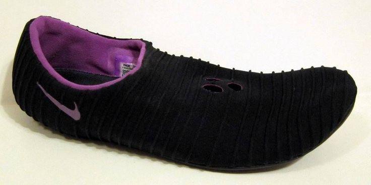 NIKE Black Fabric Yoga Pilates Shoe Size 40/US 8.5