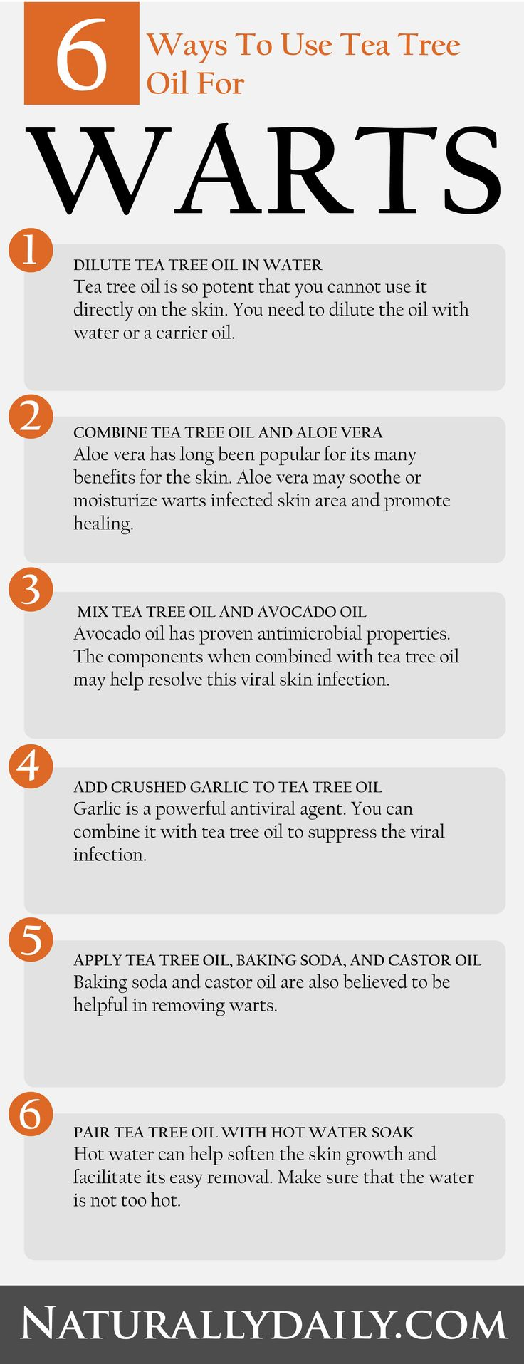 11 Efficient Methods to Use Tea Tree Oil for Warts