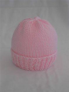 Sea Trail Grandmas: Easy Newborn Hat Knitting Pattern