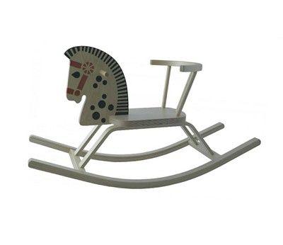 Gyngehest, Classic lys trefarget hest