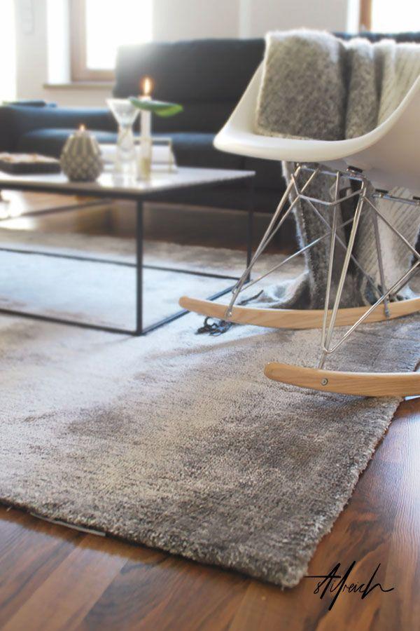 S T I L R E I C H | BLOG: WOHNZIMMER   KUSCHELMODUS #benuta #teppich  #modern #interior # · Glamour