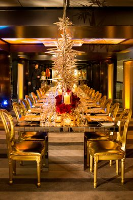 Good sets the table. Grand sets the scene. Here's to entertaining in Grand style this holiday season. #LivingGrand