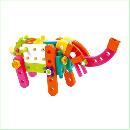 GIGO Toys - Kids Construction Sets - Junior Engineer Mini Zoo - Elephant