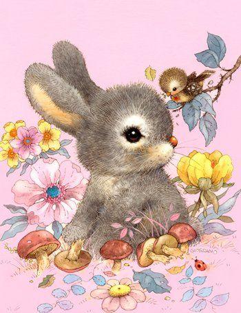 Belles illustrations de mignons animaux