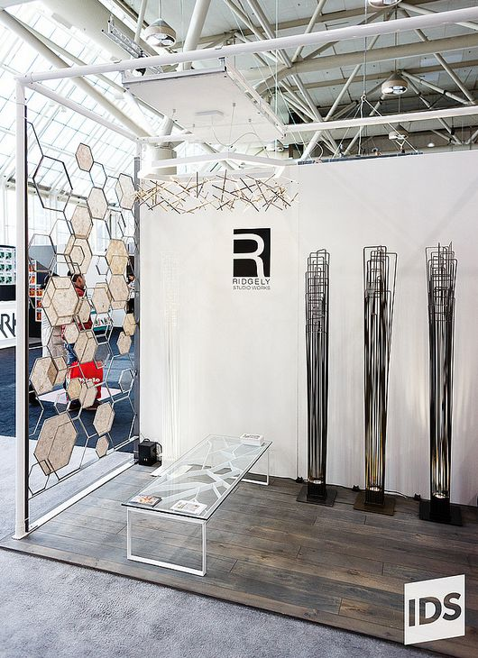 Booth View from IDS2013, image from https://www.flickr.com/photos/interior_design_show_toronto/8550966839/ #IDS13