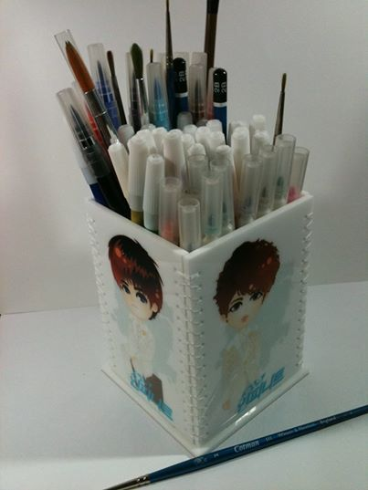 Standing Pencil Box - Experiment Stuff IDR 150.ooo (17 USD)