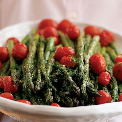 Roasted Asparagus Salad with Citrus Dressing- I'll have to make this ...