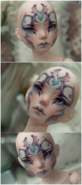 Fantasy | Whimsical | Strange | Mythical | Creative | Creatures | Dolls | Sculptures | ☥ | by Bluoxyde, via Flickr