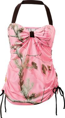 Realtree Girl® Bandeaukini Swim Top : Cabela's
