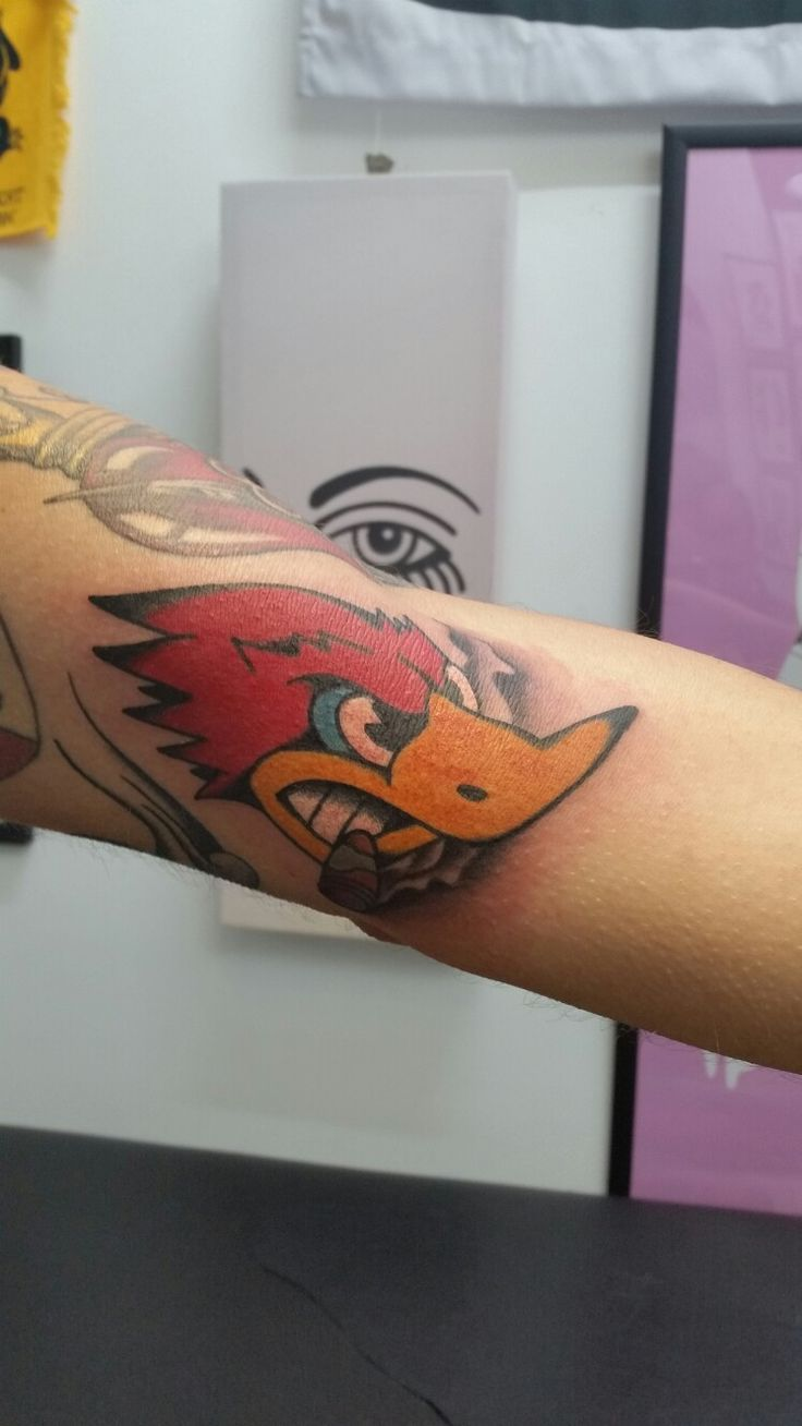 My new hot rod tattoo