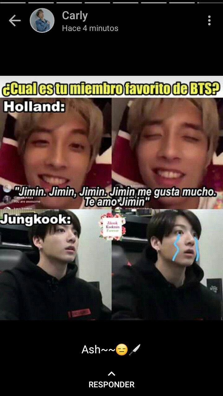 Me encanta | ─• meme en 2019 | Bts memes, Bts y Memes coreanos