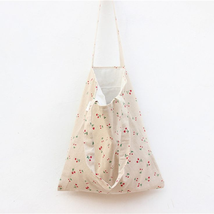 $4.34// Cherry Canvas Bag// Delivery: 6-9 weeks
