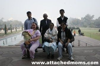 World Breastfeeding Week- Normalizing Breastfeeding - Breastfeeding at the taj mahal