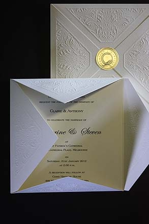 Papers Of Distinction - Beautiful Wedding Invitations and Wedding Stationery from Melbourne Australia
