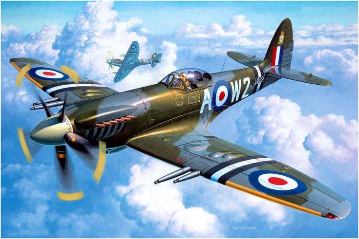 Supermarine Spitfire Mk.22/24. Andrzej Deredos.
