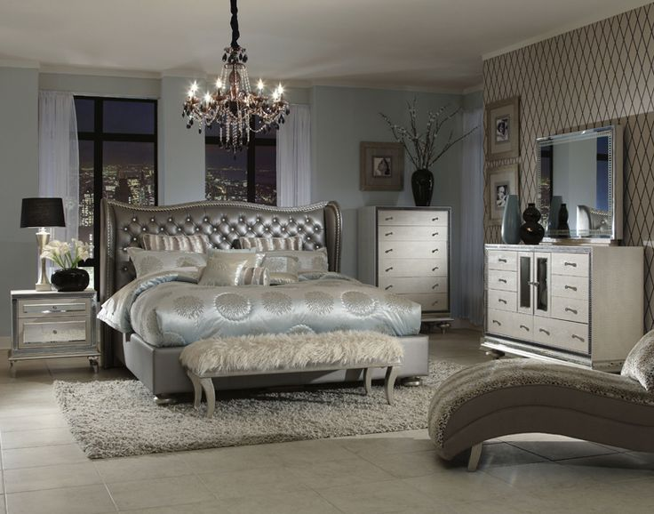 Bedroom Sets Glass top 25+ best mirrored bedroom furniture sets ideas on pinterest