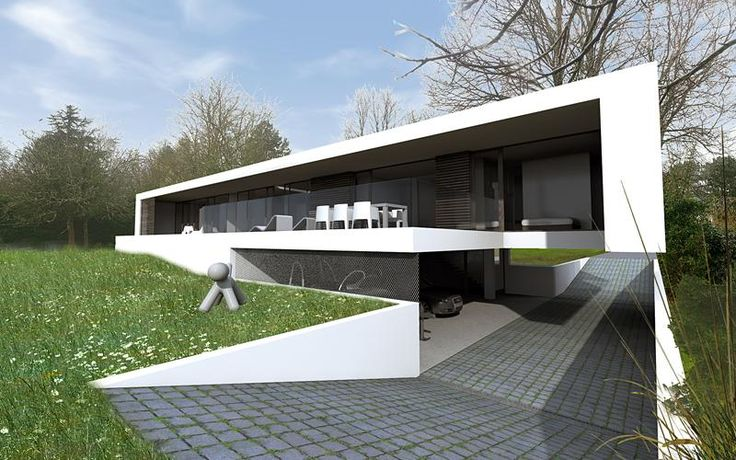 Atome architecte vannes arnaud mettelet villa de luxe haut for Architecte vannes