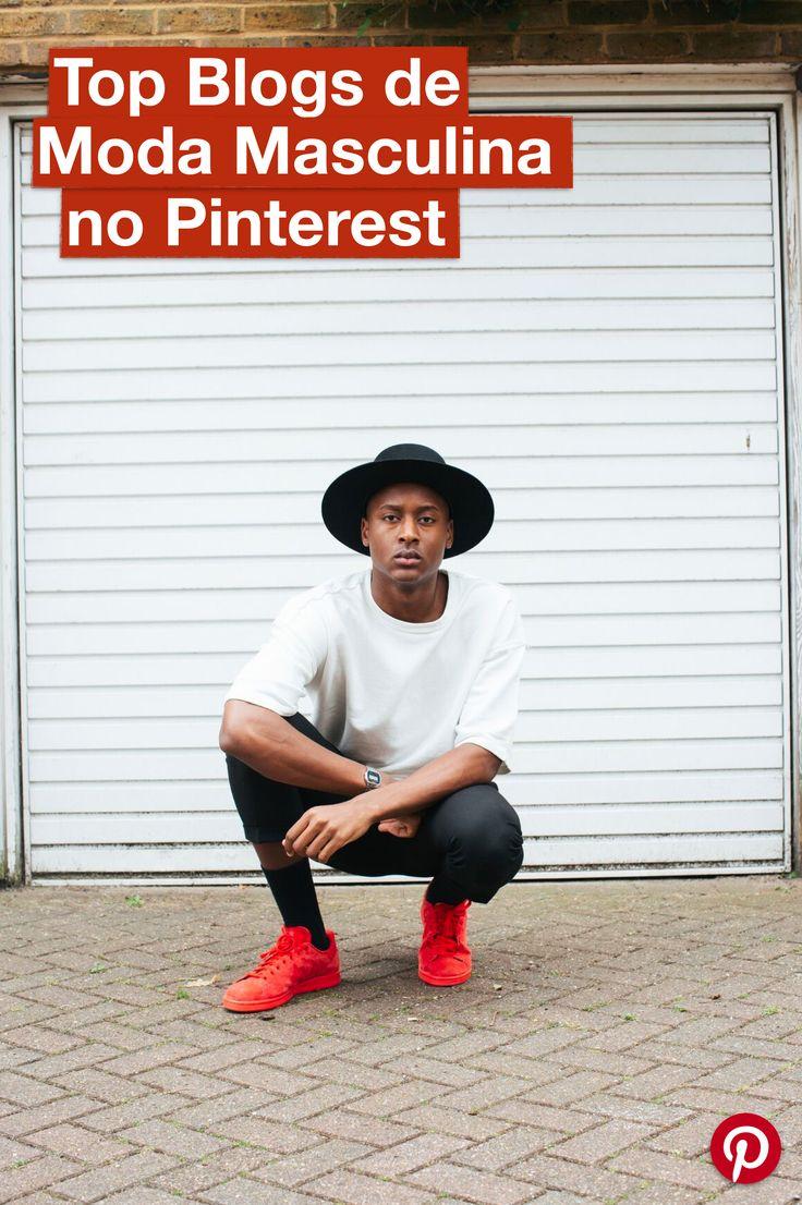 Quer saber quais são os Blogs de Moda masculina mais Pinados do Pinterest? Vem ver os Top 10 Blogs!