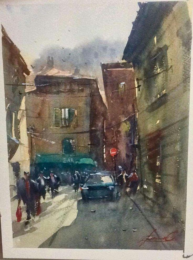 Iseo, street