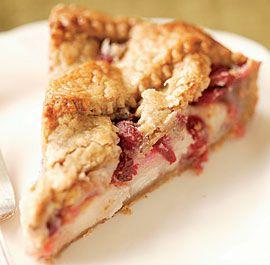 Pear-Cranberry Tart
